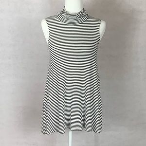 Puella (Anthropologie) Striped Sleeveless Dress